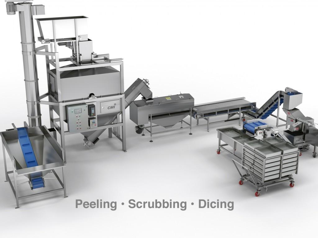 5 Steam Peeling Line Cmi Equipment Amp Engineering Co