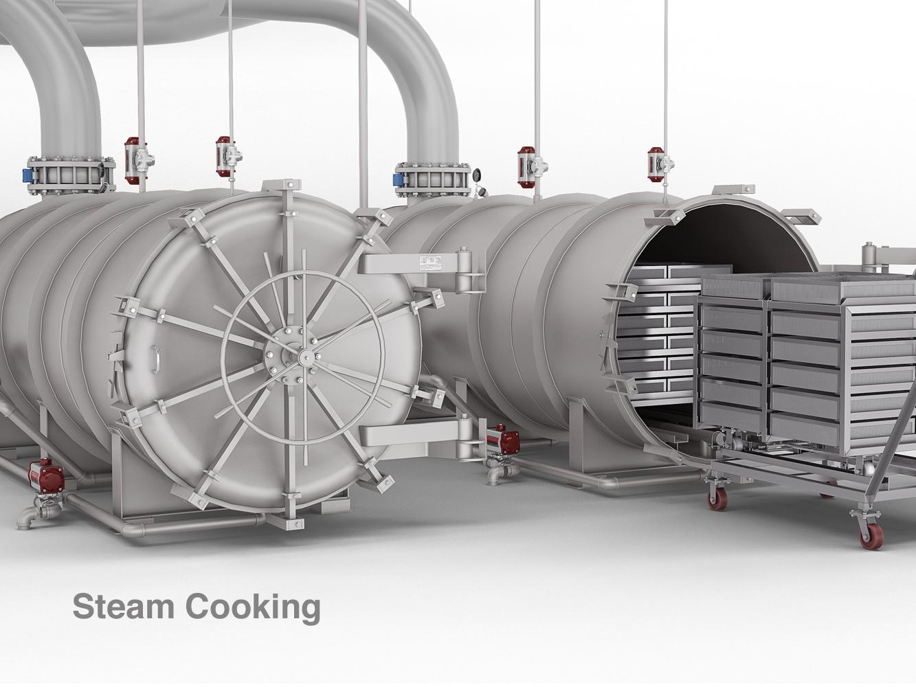 Cmi Equipment Amp Engineering Co 6 Retorts Steam Cooking
